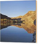 Colorado River Reflection Wood Print