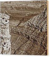Colorado River View - Grand Canyon - Arizona Wood Print