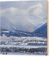 Colorado Rocky Mountain Autumn Storm Wood Print by James BO  Insogna