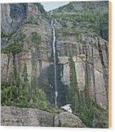 Colorado Waterfall Wood Print