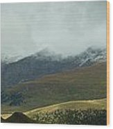 Colorado's Front Range Panorama Wood Print