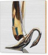 Colored Packard Hood Ornament Wood Print