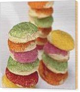 Sugar Cookies  Wood Print