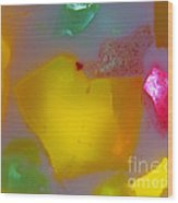 Colorful Abstract 01 Wood Print