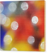 Colorful Abstract 8 Wood Print