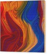 Colorful Compromises II Wood Print