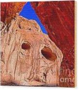 Colorful Corona Rocks Wood Print