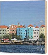 Colorful Curacao Wood Print