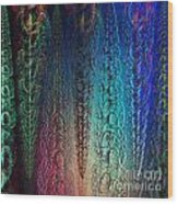 Colorful Garlands Wood Print