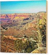 Colorful Grand Canyon Wood Print