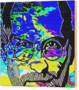 Colorful Jobs Wood Print