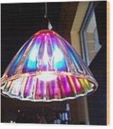 Colorful Light  Wood Print