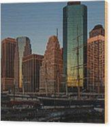 Colorful New York  Wood Print