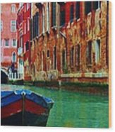 Colorful Relics Of Venice Wood Print