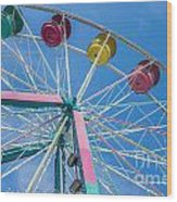 Colorful Ride Wood Print