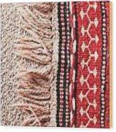 Colorful Rug Wood Print