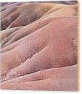 Colorful Sands Wood Print