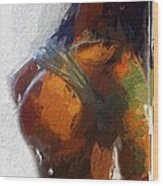Colorful Seduction Wood Print
