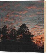 Colorful Sky Number 5 Wood Print