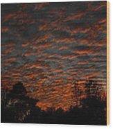 Colorful Sky Number 7 Wood Print