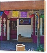 Colorful Store In Albuquerque Wood Print