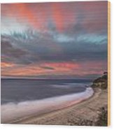 Colorful Swamis Sunset Wood Print