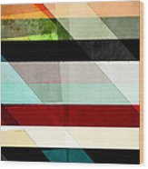 Colorful Textured Abstract Wood Print
