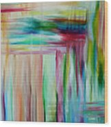 Colorful Waters Wood Print