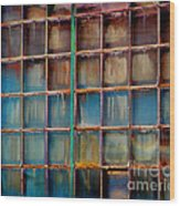 Colorful Windows  Wood Print