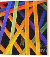 Coloring Between The Lines Wood Print