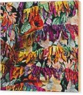 Colors 4 Wood Print