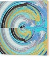 Colors Wood Print by David Alvarez