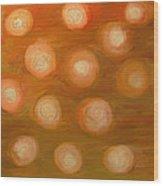 Colors In Meditation Wood Print