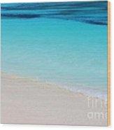 Colors Of Bermuda Wood Print