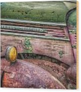 Colors Of Corrosion Wood Print
