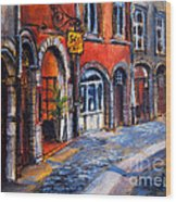 Colors Of Lyon 2 Wood Print