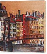 Colors Of Lyon I Wood Print
