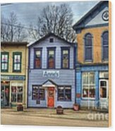 Colors Of Metamora 2 Wood Print