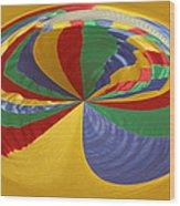 Colors Of Motion Wood Print