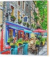 Colors Of Quebec 14 Wood Print