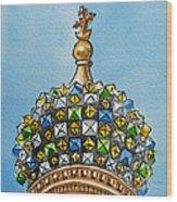 Colors Of Russia St Petersburg Cathedral IIi Wood Print by Irina Sztukowski