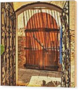 Colors Of Saint Thomas 2 Wood Print by Mel Steinhauer