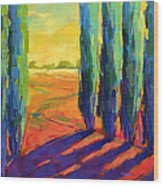Colors Of Summer 3 Wood Print
