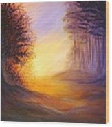 Colors Of The Morning Light Wood Print