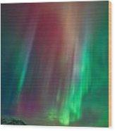 Colors Of The Sea Wood Print