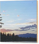 Colors Of The Sky Wood Print