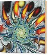 Colors Of The Spirit Wood Print by Anastasiya Malakhova