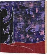 Colors Of War Wood Print
