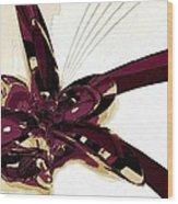 Colors Tie Wood Print