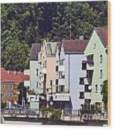 Colorul Houses In Germany Wood Print